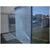 película de segurança de vidros