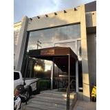 películas de controle solar para vidros Jardim Marajoara