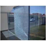 quanto custa película de segurança para vidros Guararema
